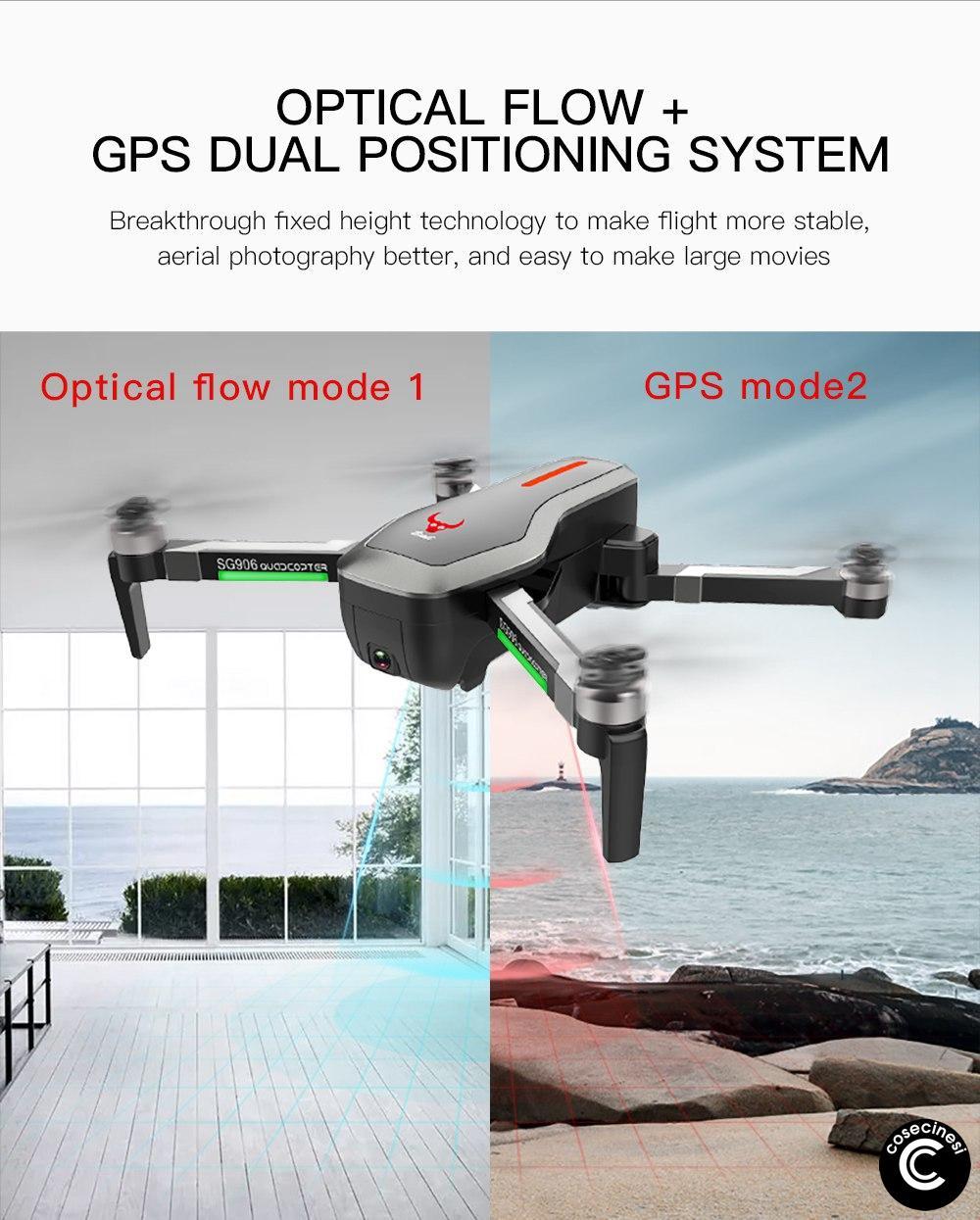ZLRC-SG906-con GPS e Optical Flow