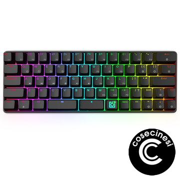 GK66 USB-C Wired Split-Spacebar Hot-swappable Gateron Optical Switch RGB Mechanical Gaming Keyboard
