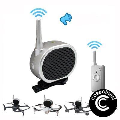 Global Drone Accessories Loudspeaker for Drone GW90 B5W Mavic PRO Phantom 4 Zino SG907 F11