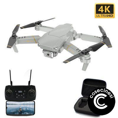 Global Drone GD89 Foldable WiFi FPV RC Drone Quadcopter with 4K HD Camera Toy Gift
