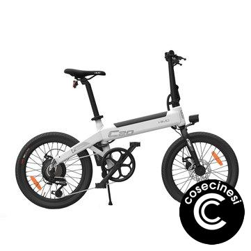 [EU Direct] HIMO C20 10Ah 36V 250W 20 Inch Foldable Electric Moped Bicycle Brushless Motor 100kg Max Load 23.7km/h Top Speed 80km Mileage Electric Bike Built-in Air Pump EU Plug