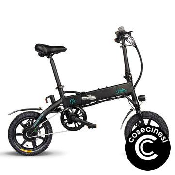 [EU Direct] FIIDO D1 36V 250W 7.8Ah 14 Inches Folding Moped Bicycle 25km/h Max 60KM Mileage Electric Bike