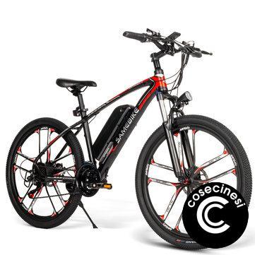 [EU Direct] SAMEBIKE MY-SM26 8Ah 350W 48V 26inch Electric Bike 30km/h Top Speed 80km Mileage Range Max Load 150kg