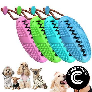 Dog Toothbrush Chew Stick Cleaning Toys Silicone Pet Brushing Oral Dental Care