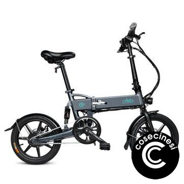 [EU Direct] FIIDO D2 7.8Ah 36V 250W 16 Inches Folding Moped Bicycle 25km/h Max 50KM Mileage Electric Bike