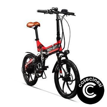 [EU Direct] RICH BIT TOP-730 48V 250W 8Ah 20inch Folding Moped Electric Bike 32km/h Top Speed 45-50km Mileage Outdoor Cycling Mountain Bicycle