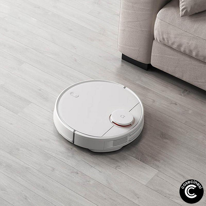 Coupon Xiaomi Mijia 2 in 1 Robot Vacuum Mop Vacuum Cleaner 2100pa Wifi Smart Planned Clean Mi Home APP