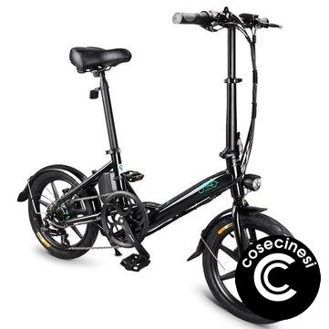 [EU Direct] FIIDO D3S Shifting Version 36V 7.8Ah 250W 16 Inches Folding Moped Bicycle 25km/h Max 60KM Mileage Electric Bike