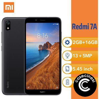 Xiaomi Redmi 7A 2GB 16GB 7 A Cellphone Snapdargon 439 Octa core 4000mAh 12MP Camera 5.45Inch