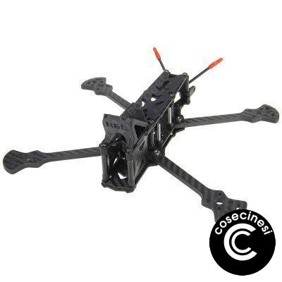 HGLRC Sector Freestyle 3K Carbon Fiber Frame Kit for FPV Racing RC Drone