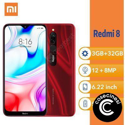 Xiaomi Redmi 8 6.22Inch MIUI 10 Snapdragon 439 Smartphone Octa Core 4GB 64GB 5000mAh Dual SIM Mobile