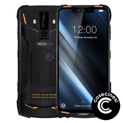 IP68 DOOGEE S90C Modular Rugged Mobile Phone 6.18inch Display 12V2A 5050mAh