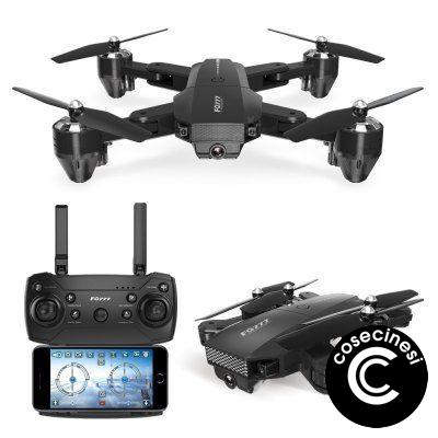 FQ35 WIFI FPV Foldable RC Quadcopter Drone with 720P Camera Altitude Hover