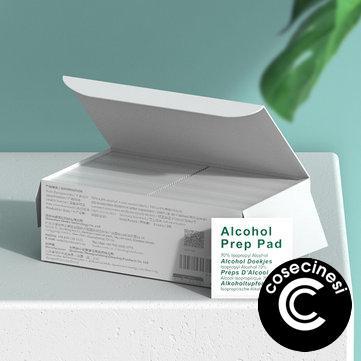Benks 100pcs Alcohol Prep Pads