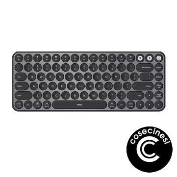 Coupon MIIIW MWXKT01 Wireless Dual Mode Keyboard 85 Keys 2.4GHz+bluetooth 4.2 Mini Ultra Slim Keyboard for Computers Laptop PC Smartphone from XIAOMI YOUPIN