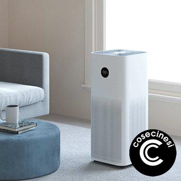 Coupon Xiaomi Mijia Air Purifier Pro H White OLED Touch Display Mi Home APP Control 600m3 h Particle CADR