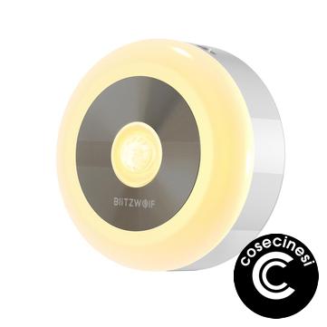 BlitzWolf® BW-LT15 LED Motion & PIR Sensor Night Light