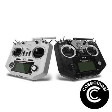 $110.49 for FrSky ACCST Taranis Q X7 Transmitter 2.4G 16CH Mode 2 White Black International Version for RC Drone