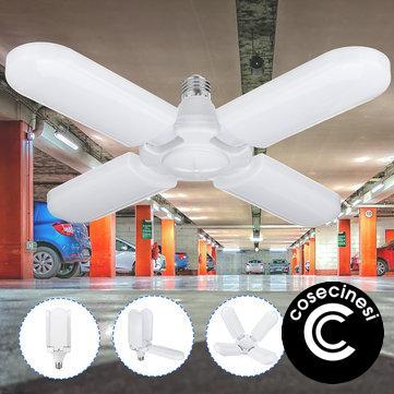 Coupon 60W E27 Deformable LED Garage Bulb AC85 265V 165 265V