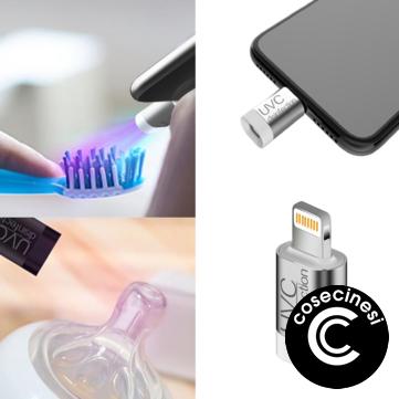 Coupon Mini Instant Phone Sterilizer Travel Virus Disinfection Machine For Lightning Type Interface Virus Sterilization Tools