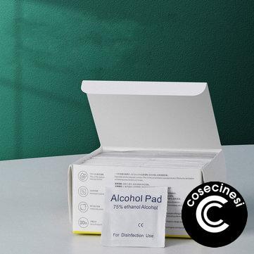 Baseus 120pcs/220pcs 60*60mm Alcohol Prep Pads