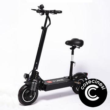 Coupon YUME YM D4 23 4Ah 52V 2000W Dual Motor Folding Electric Scooter Double Brake System Max Load 200kg EU Plug p 1573137