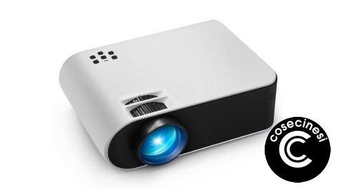 Coupon  AUN W18 Mini Projector Banggood [Basic]