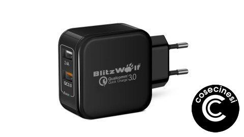 Coupon  BlitzWolf BW-S6 30W Dual USB QC3.0 USB Charger Banggood