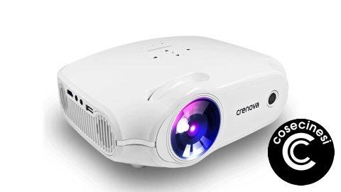 Coupon  CRENOVA XRE498 PLUS LED Projector Banggood