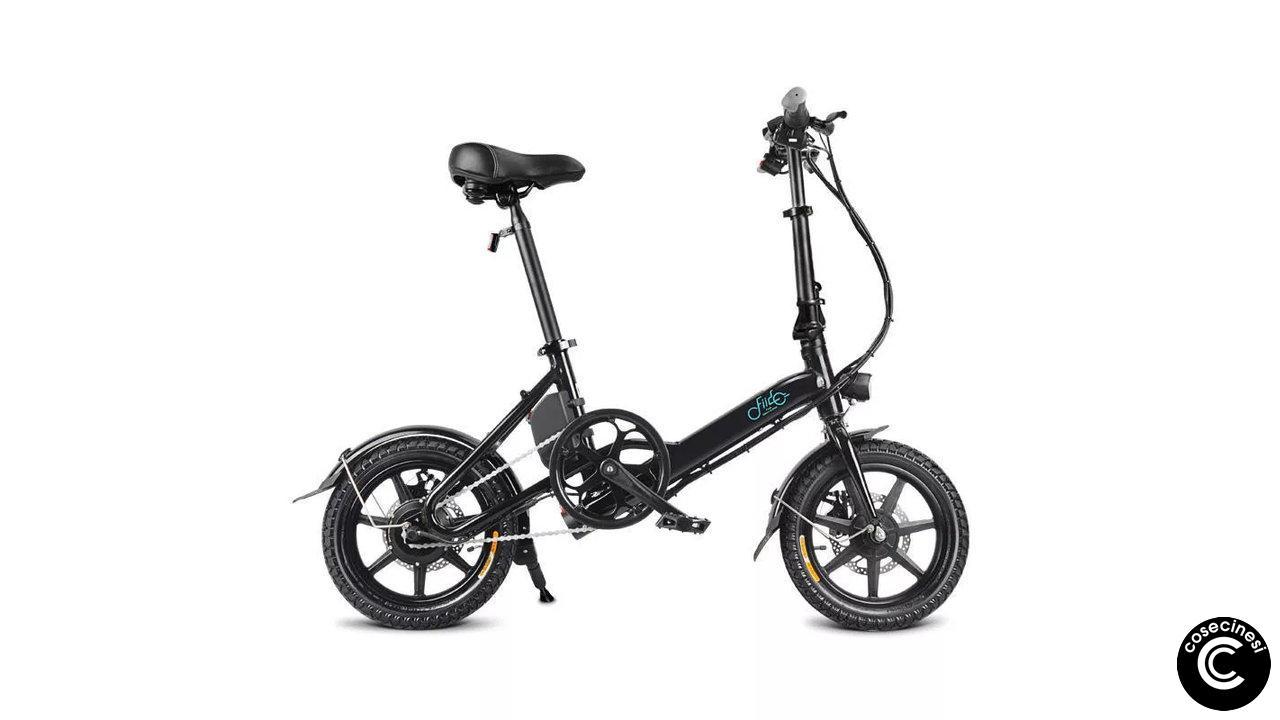 Coupon FIIDO D3 Folding Moped Bicycle [7.8mAh] [UK Warehouse]