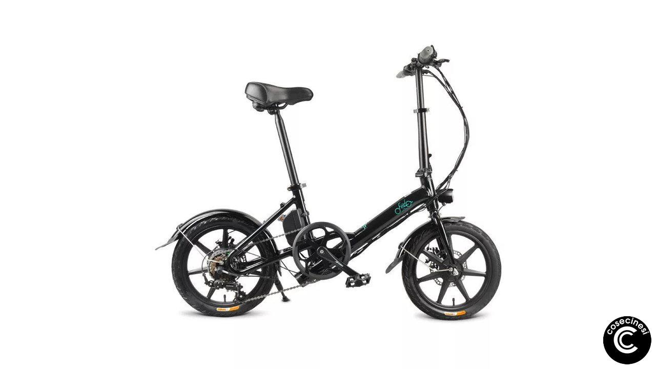 Coupon FIIDO D3 Shifting Version Folding Electric Bike [EU Direct]