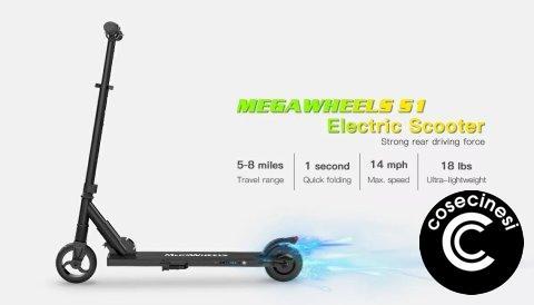 Coupon  Megawheels S1 Folding Electric Scooter Banggood [EU Direct]