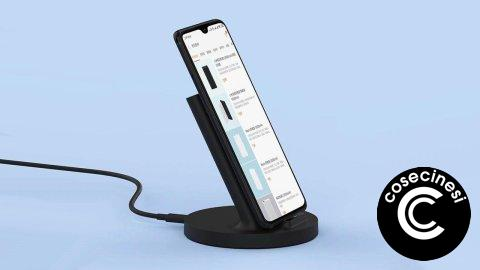 Coupon  Xiaomi Vertical Wireless Charger 20W Banggood