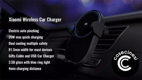 Coupon  Xiaomi Wireless Car Charger Banggood