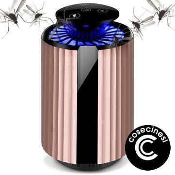 Coupon Loskii BT KU02 USB Photocatalyst Mosquito Killer Lamp Insect Dispeller Light Fly Catcher