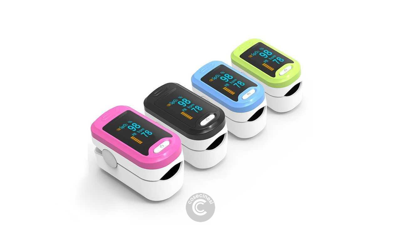 Codice sconto coupon  BOXYM YK-81A OLED Portable Finger Pulse Oximeter