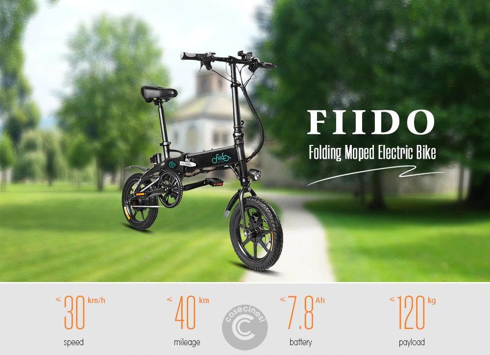 Codice sconto coupon  FIIDO D1 Folding Electric Bike [10.4AH] [UK Warehouse]