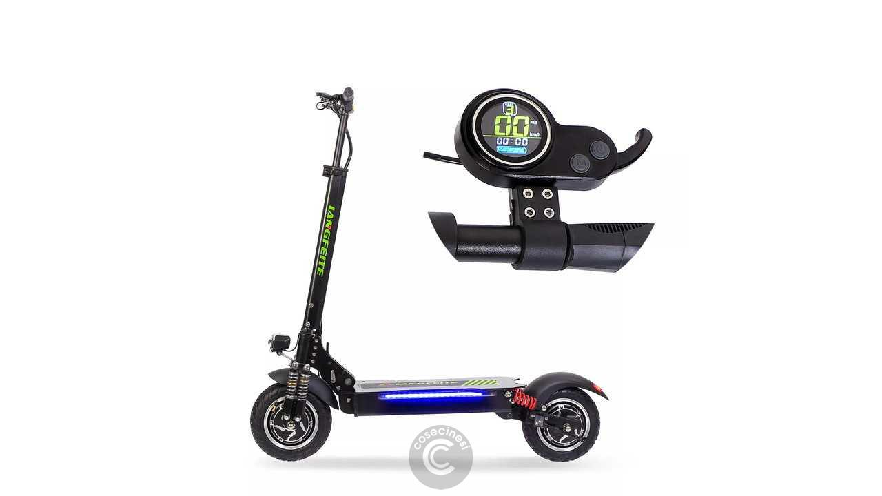Codice sconto coupon  LANGFEITE L8 Double Motor Folding Electric Scooter