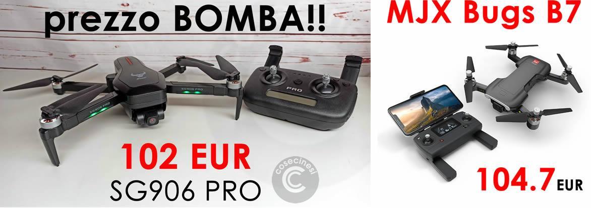 SG906 PRO e MJX B7 al prezzo più basso di sempre