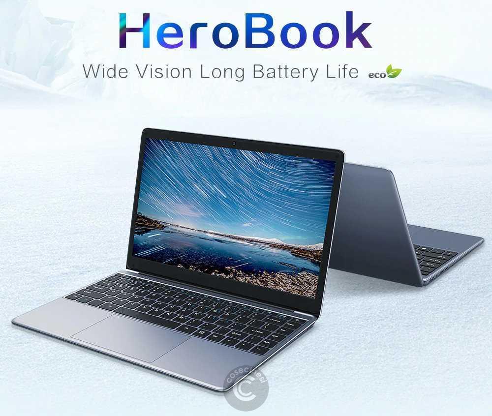 Codice sconto coupon  CHUWI HeroBook Laptop [x5-E8000 4+64GB] [Spain Warehouse]