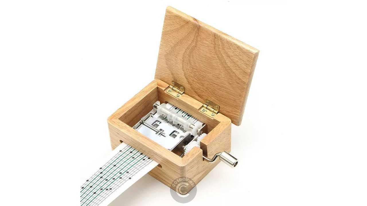 Codice sconto coupon  15 Tone DIY Hand-cranked Music Box Wooden Box