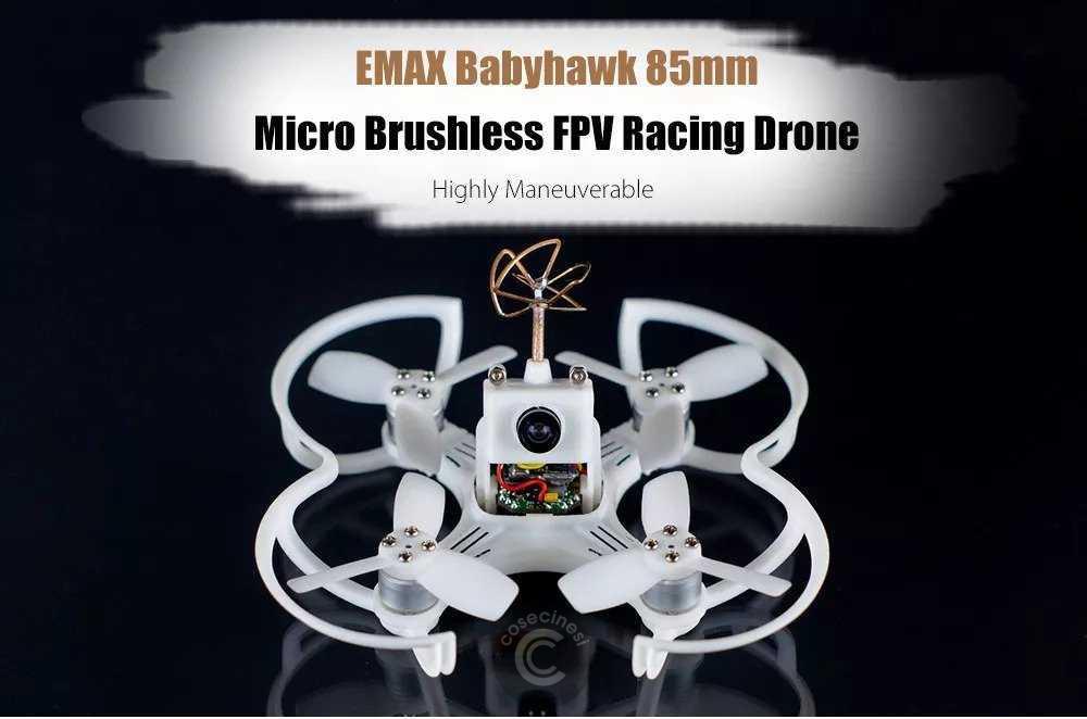Codice sconto coupon  EMAX Babyhawk 85mm Mirco Brushless RC DRONE
