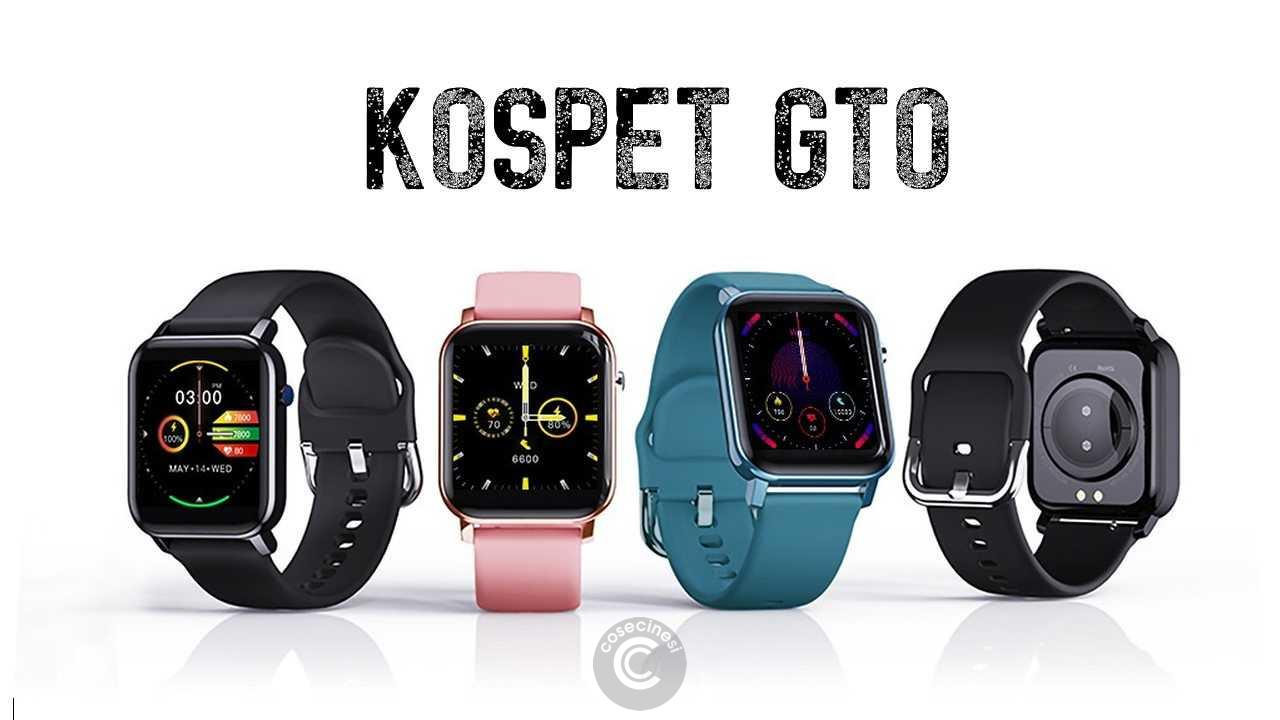 Codice sconto coupon  KOSPET GTO Smartwatch