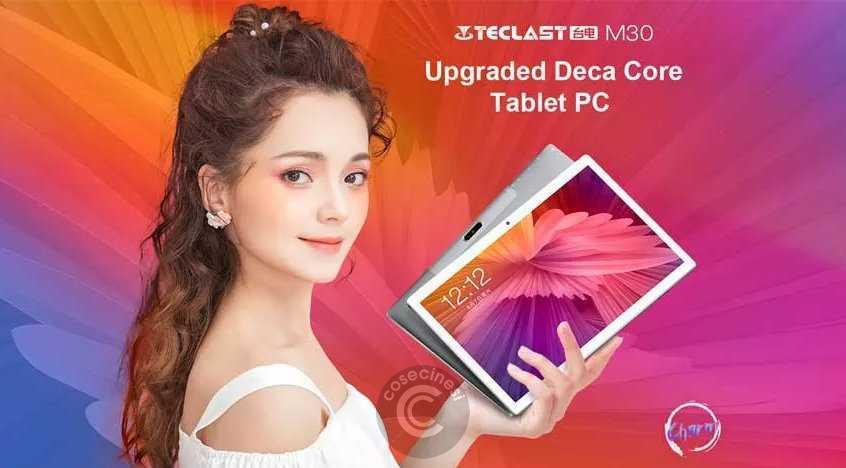 Codice sconto coupon  Teclast M30 10.1″ Tablet [4+128GB] [Spain Warehouse]