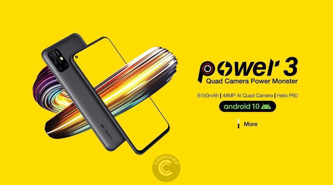 Codice sconto coupon  UMIDIGI Power 3 [4+64GB]