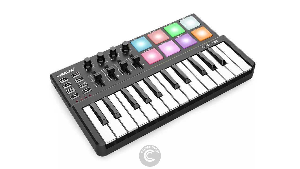 Codice sconto coupon  WORLDE Panda Mini USB/MIDI Controller Keyboard