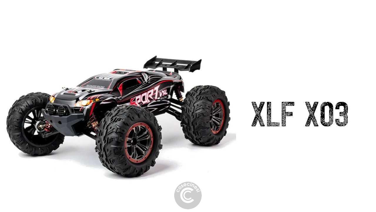 Codice sconto coupon  XLF X03 1/10 4WD Brushless RC Car