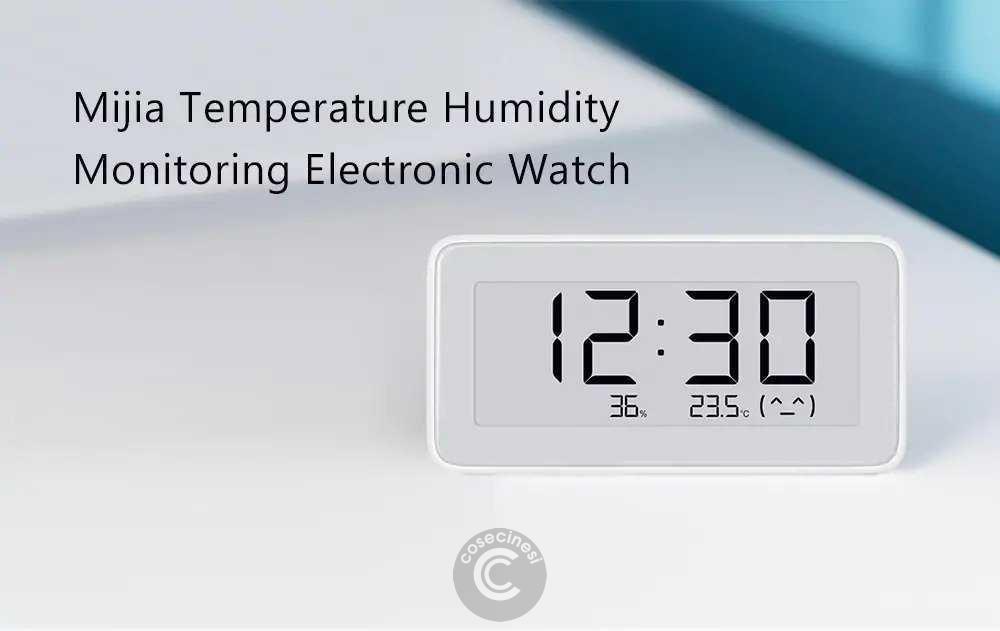 Codice sconto coupon  Xiaomi Mijia Digital Hygrometer Clock