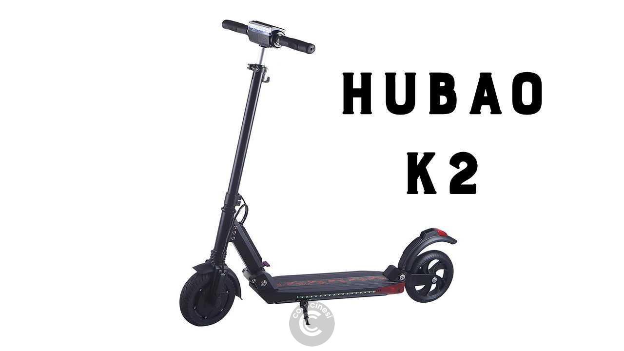 Codice sconto coupon  Hubao K2 Folding Electric Scooter