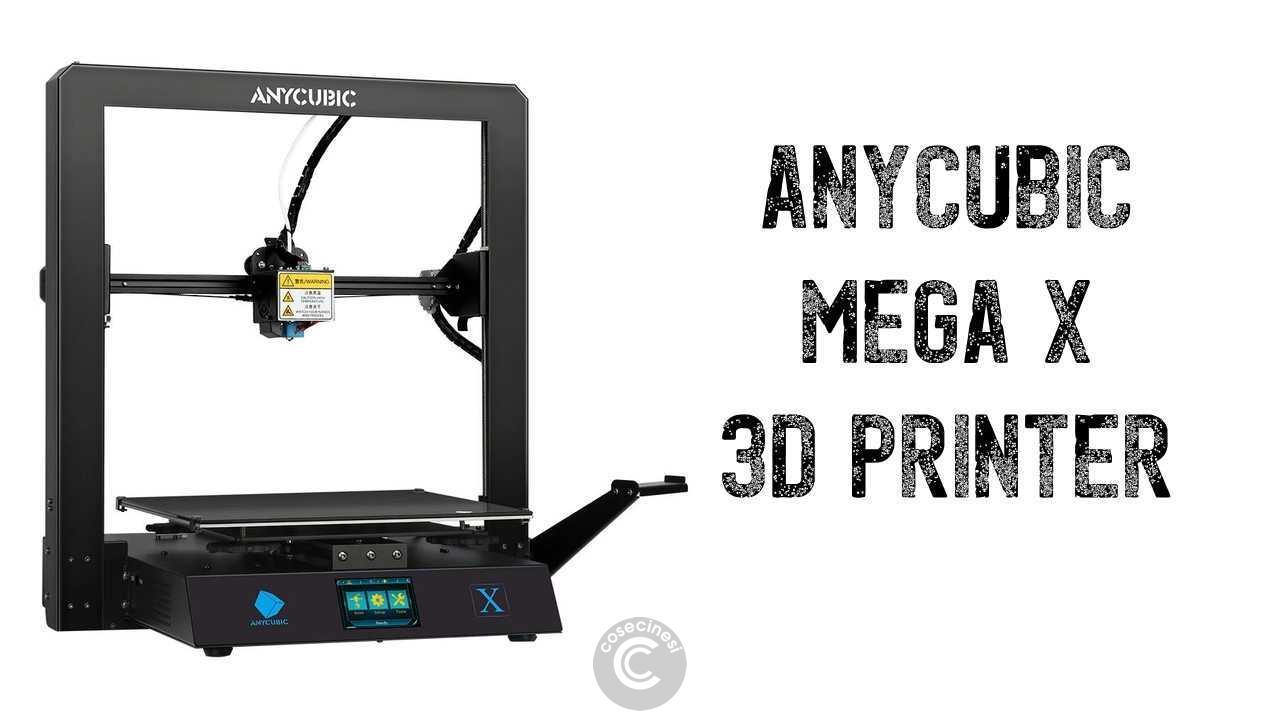Codice sconto coupon  Anycubic Mega X 3D Printer